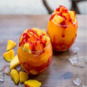 Vence al calor con este frappe de mango y vodka