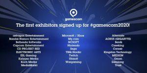 Confirmado: Microsoft y Nintendo en la Gamescom 2020