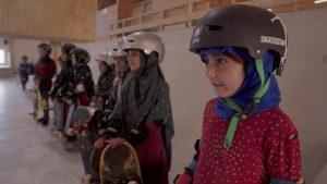 Aprendiendo a patinar en zona de guerra