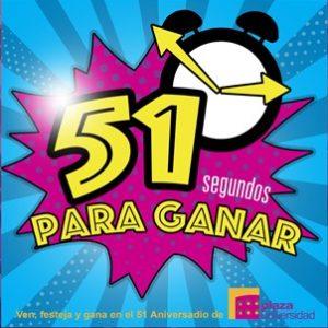 Plaza Universidad cumple 51 años ¡Festeja con nosotros