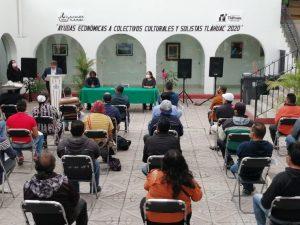 La alcaldía Tláhuac apoya económicamente a la comunidad artística