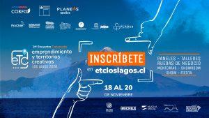 🌎 ETC Los Lagos 2020 (Chile), una oportunidad para emprendedores creativos
