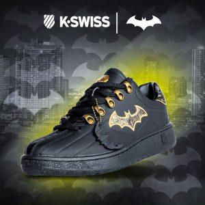 K-Swiss lanza colección exclusiva de Batman