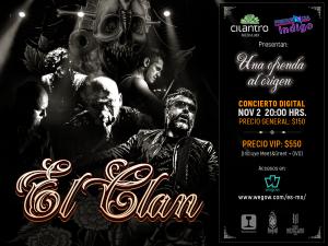 El Clan ofrecerá «Una Ofrenda al Origen» en concierto online